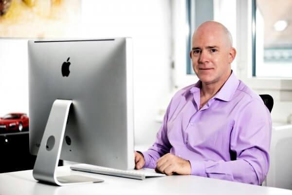 Patrick Wymann, Geschäftsführer der Conbuch AG